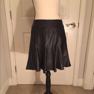 Ann Taylor Imitation leather shirt